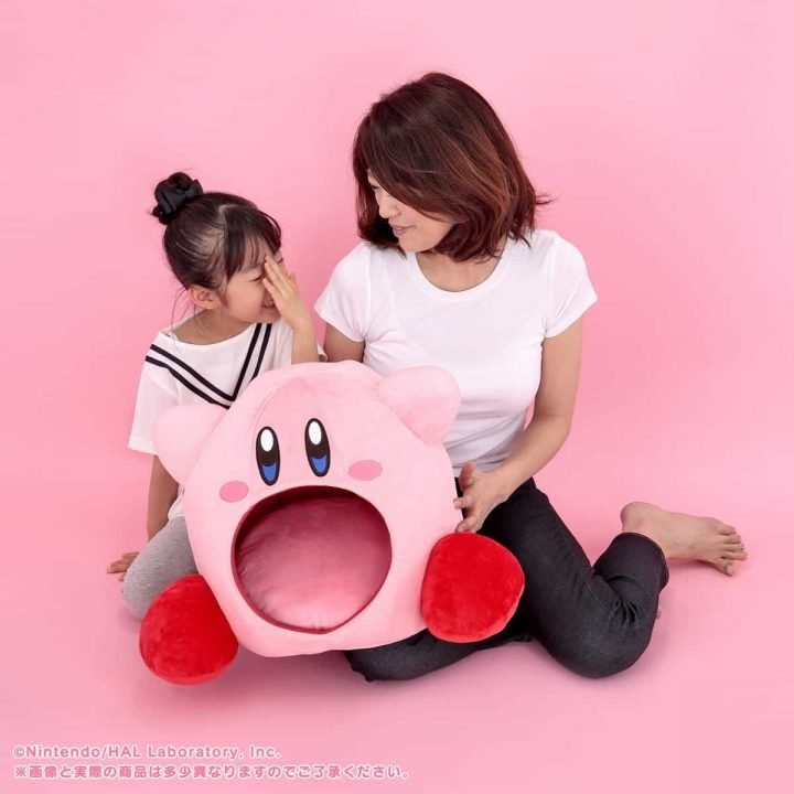 """BANDAI SPIRITS: You Too Can Find out """"What Would Happen If Kirby Inheld You In..."""" with This 38 cm Tall Plushy! 3"""