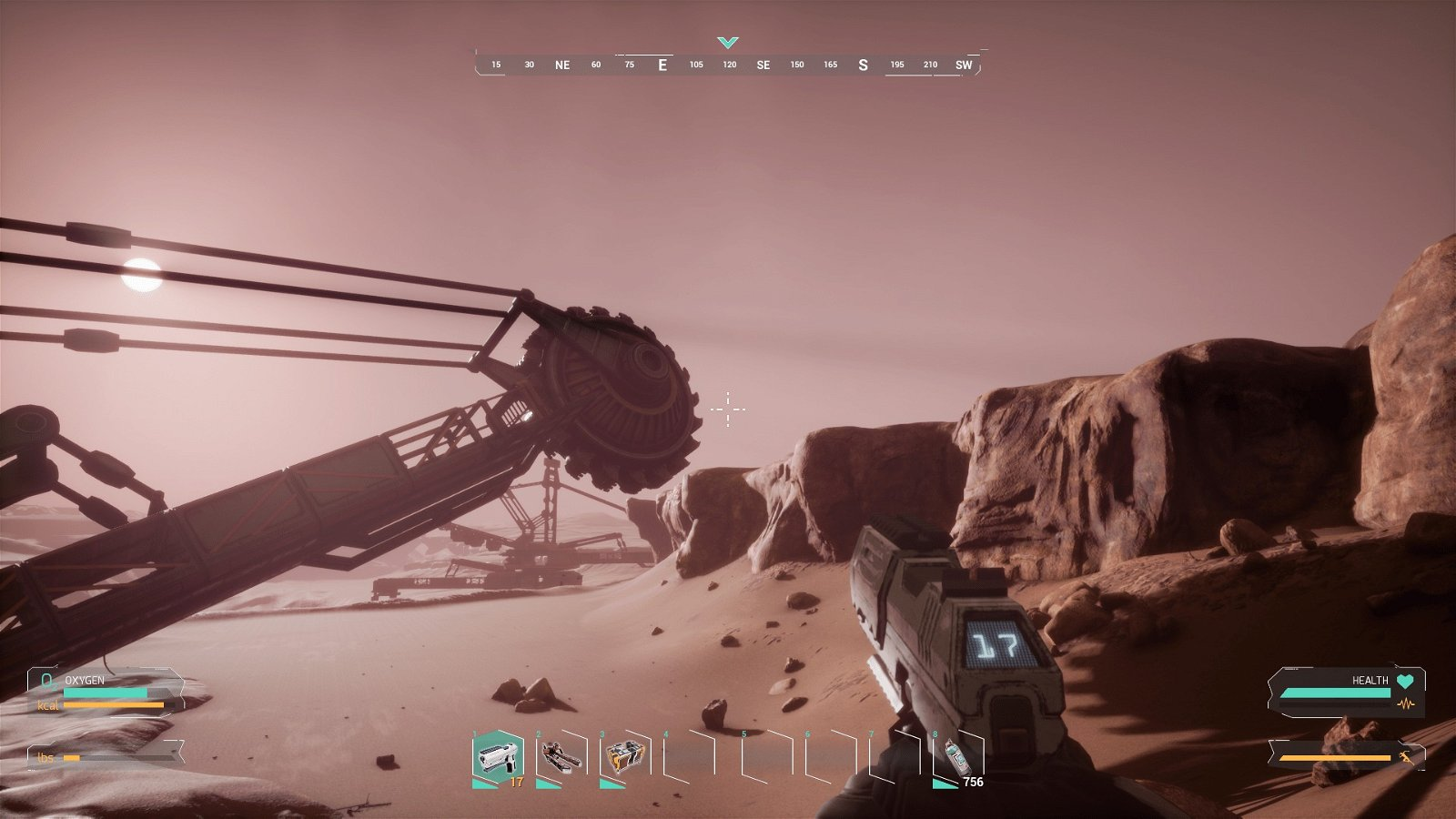 FIGHT TO SURVIVE AND EXPLORE GALACTIC WASTELANDS OF THE RED PLANET IN 'MEMORIES OF MARS,' AN OPEN WORLD ONLINE SURVIVAL SANDBOX GAME
