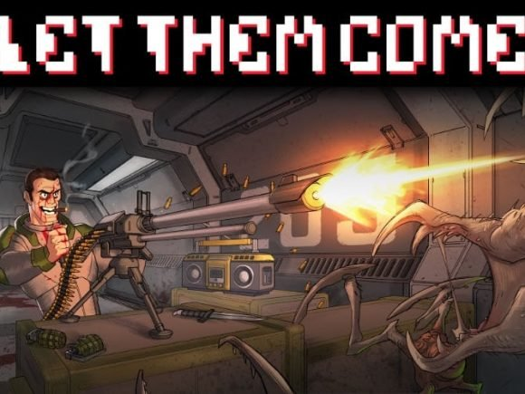 FRANTIC SCI-FI SHOOT EM UP, LET THEM COME LAUNCHES ON MOBILE