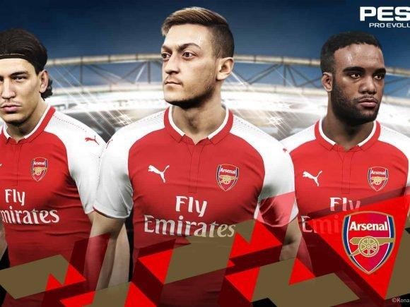 Konami Announces Arsenal FC Partnership Agreement