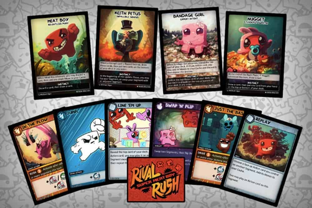 MEAT BOY ENTERS THE MEAT SPACE WITH COLLECTABLE CARD GAME SUPER MEAT BOY: RIVAL RUSH