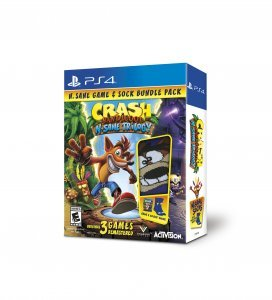 N. Sane Offerings This Holiday for the Crash Bandicoot N. Sane Trilogy