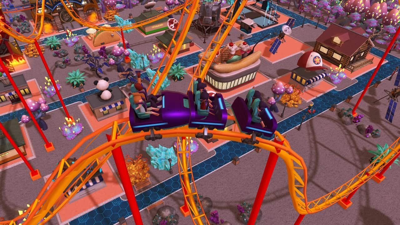 RollerCoaster Tycoon Adventures (Nintendo Switch) Review 1