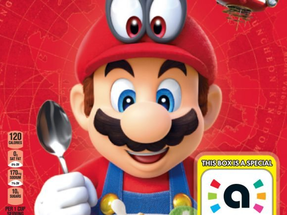 Super Mario Cereal from Kellogg's® Makes Breakfast a Playful Experience