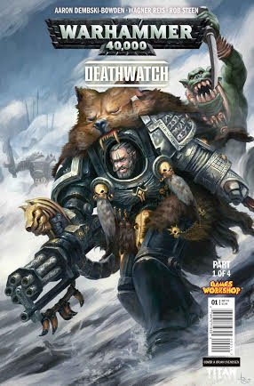 Titan And Games Workshop Team-Up For Brand-New Deathwatch Comics Based On The Best-Selling Board Game!