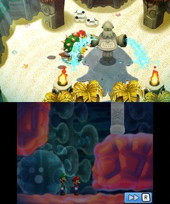 Mario and Luigi: Bowser's Inside Story + Bowser Jr's Journey (3DS) Review 2