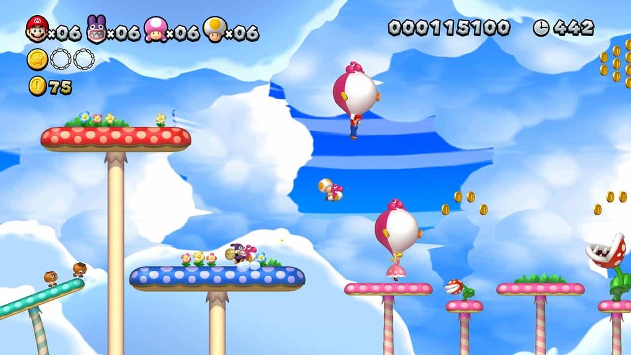 New Super Mario Bros. U Deluxe (Nintendo Switch) Review 2