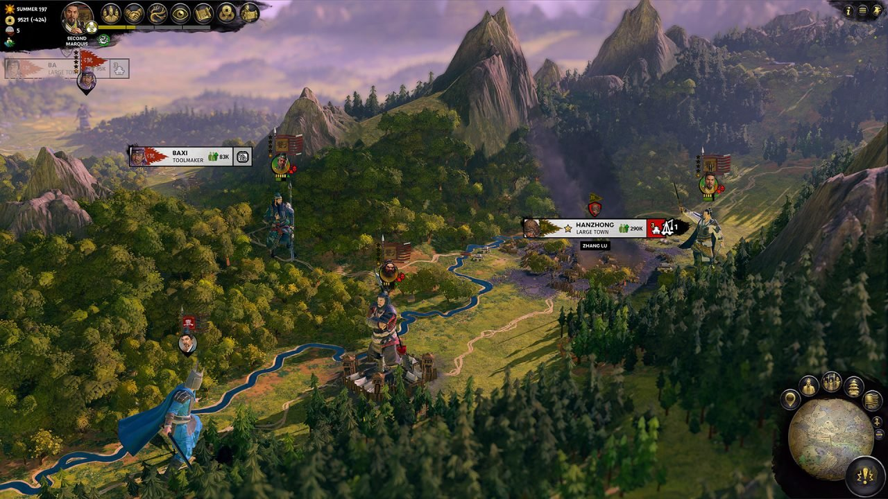 Total War: Three Kingdoms Single Player Campaign Preview 2