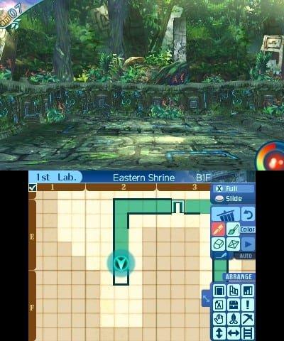 Etrian Odyssey Nexus (3DS) Review 3
