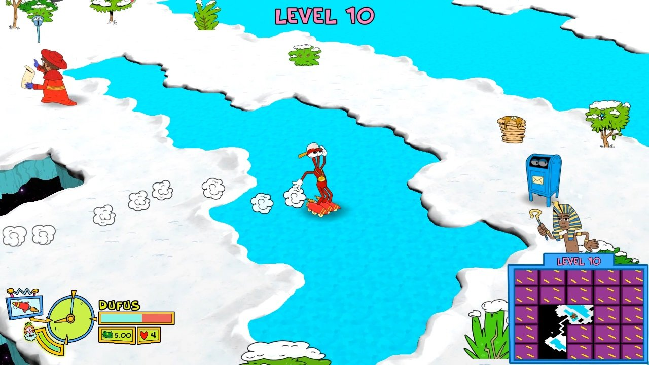 Toejam &Amp; Earl: Back In The Groove (Switch) Review