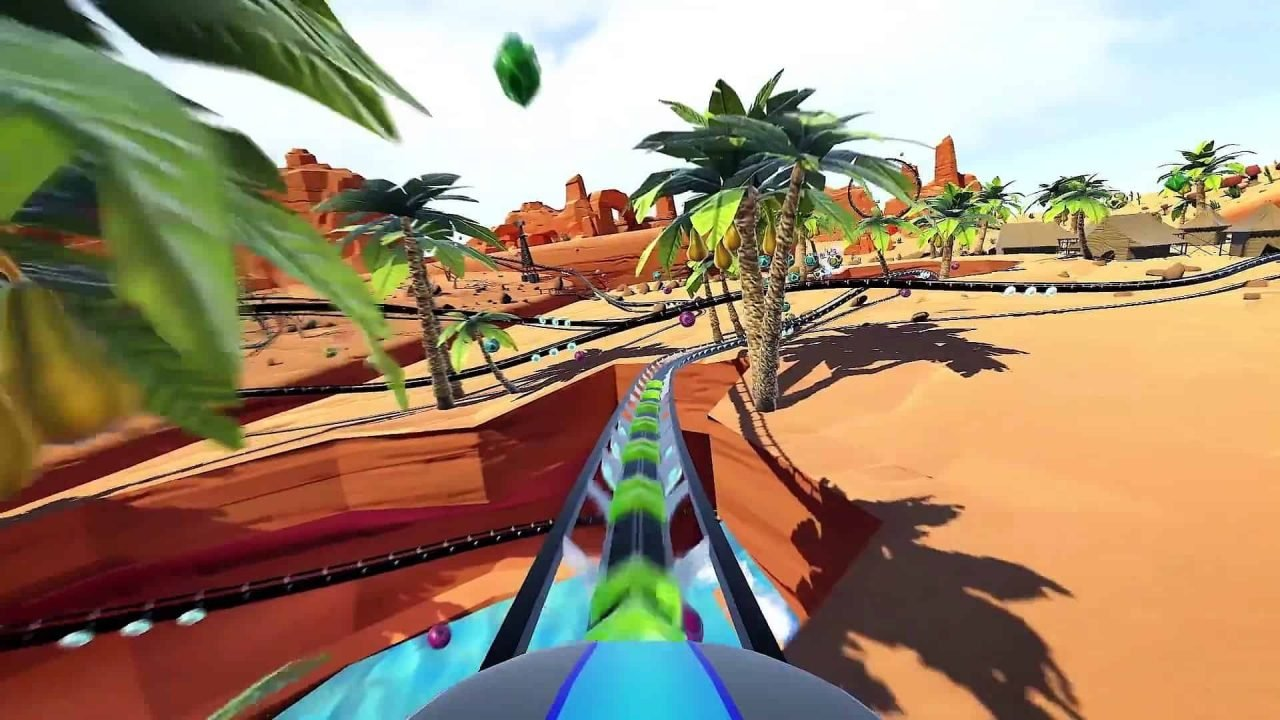 RollerCoaster Tycoon Joyride (PSVR) Review 1