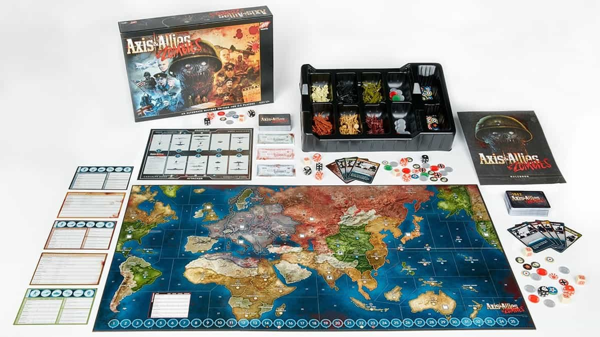 Axis &Amp; Allies &Amp; Zombies Review 1