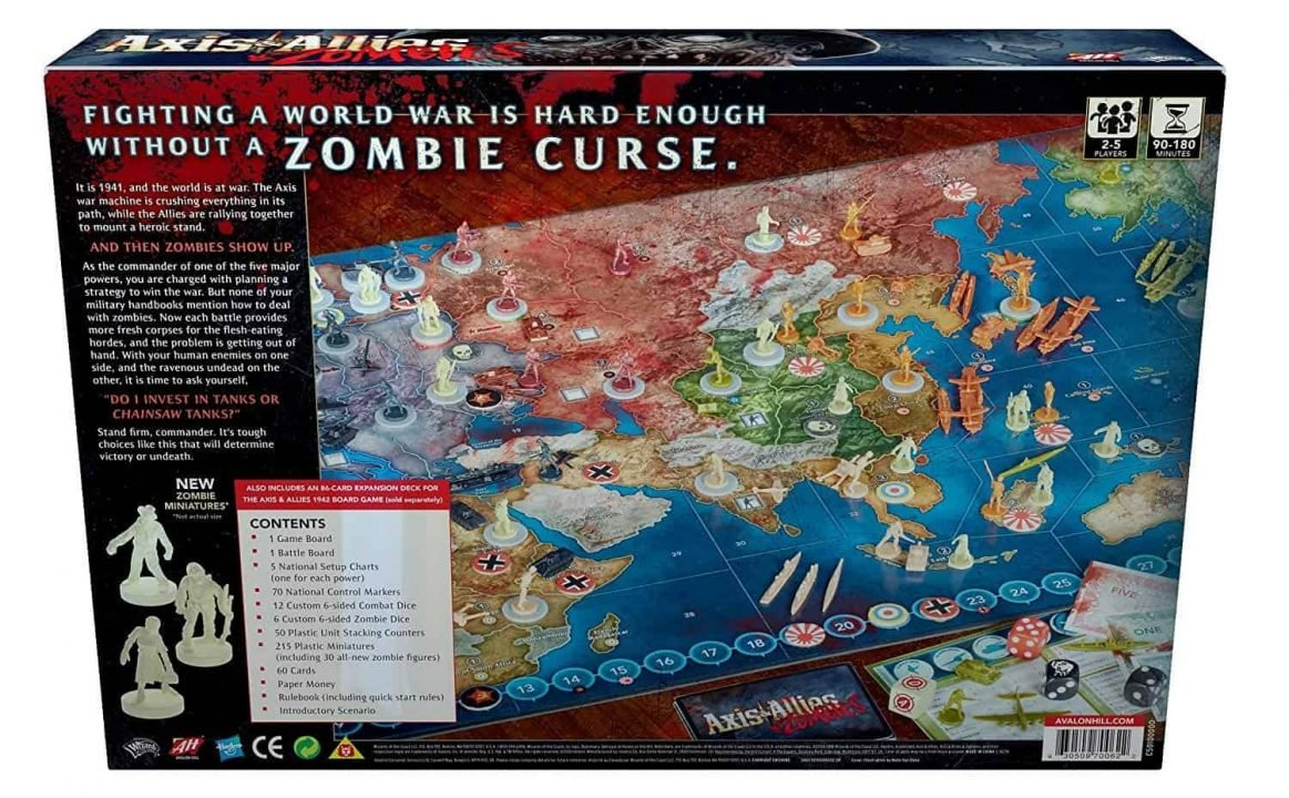 Axis &Amp; Allies &Amp; Zombies Review 2