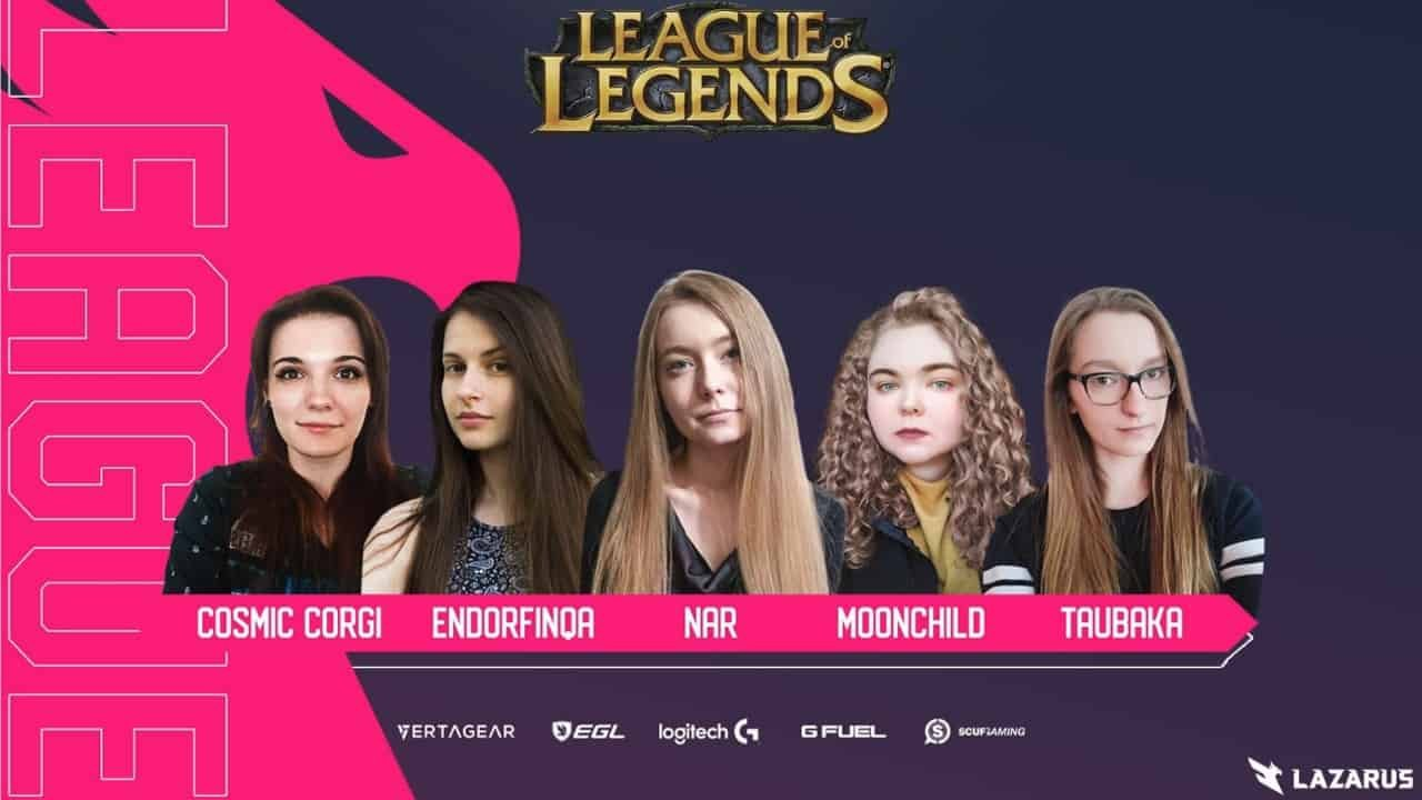 esports1 - The SheIS Collective and Tiidal Gaming Champions Women in Esports