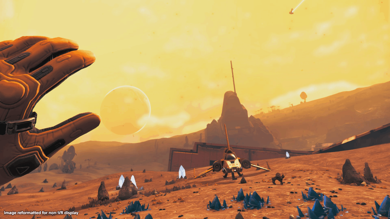 Exploring The Uncharted Worlds of No Man's Sky VR with Jennifer Clixby