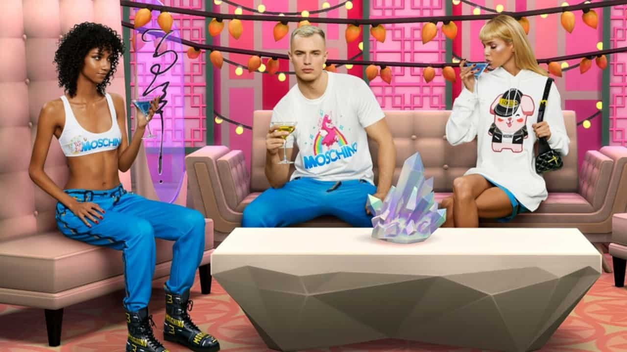 The Sims Reveals Fashion Collaboration With Luxury Brand Moschino 4
