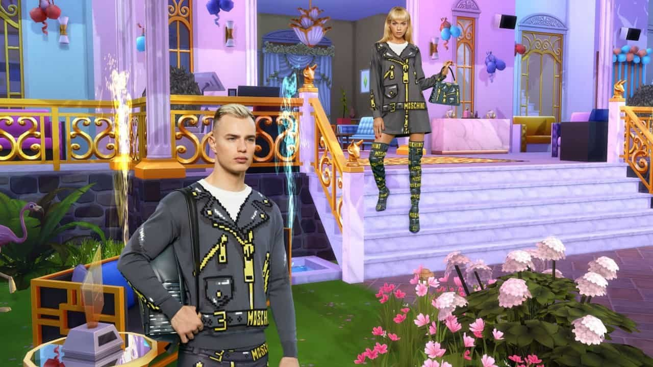 The Sims Reveals Fashion Collaboration With Luxury Brand Moschino 2