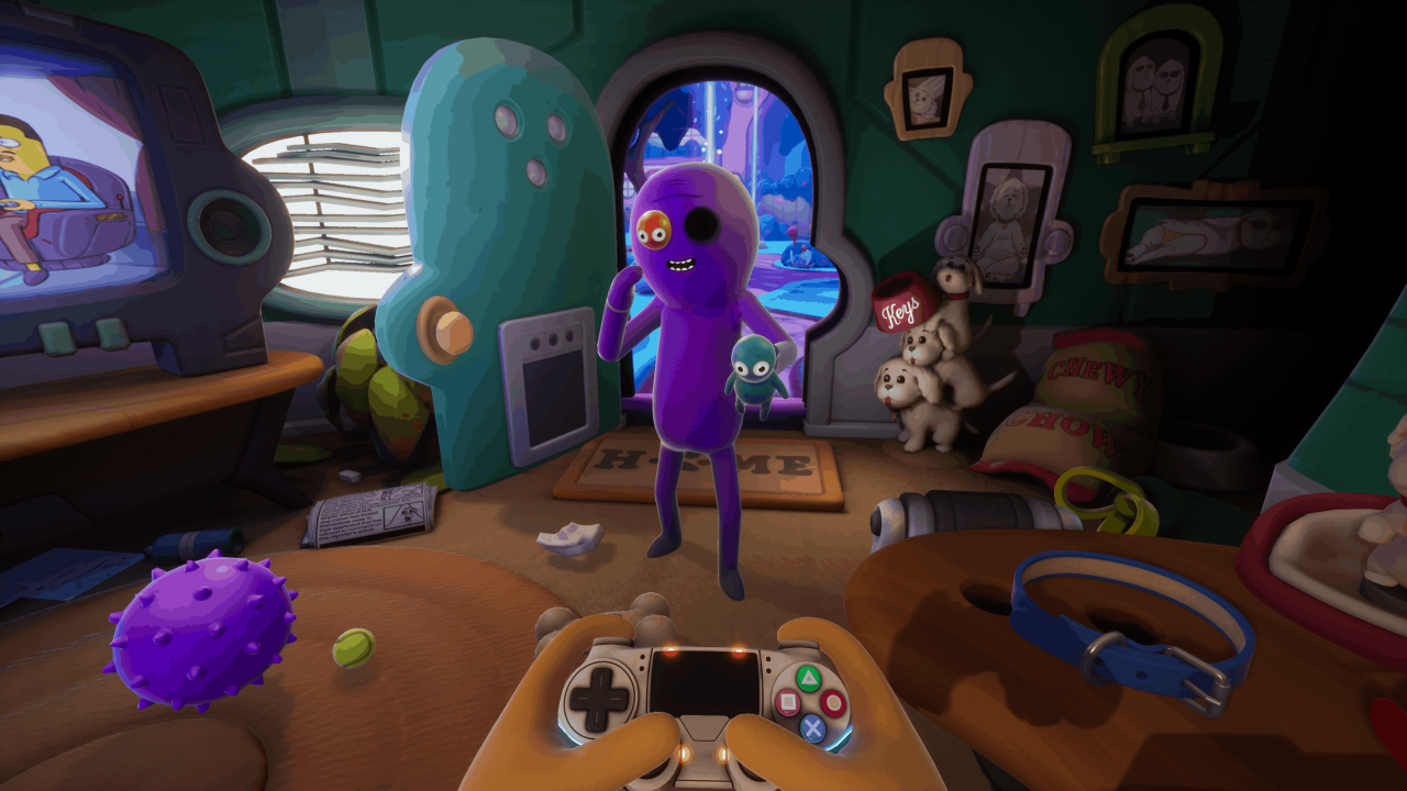 Apartment 1280x720 - Trover Saves the Universe (PSVR/PS4) Review