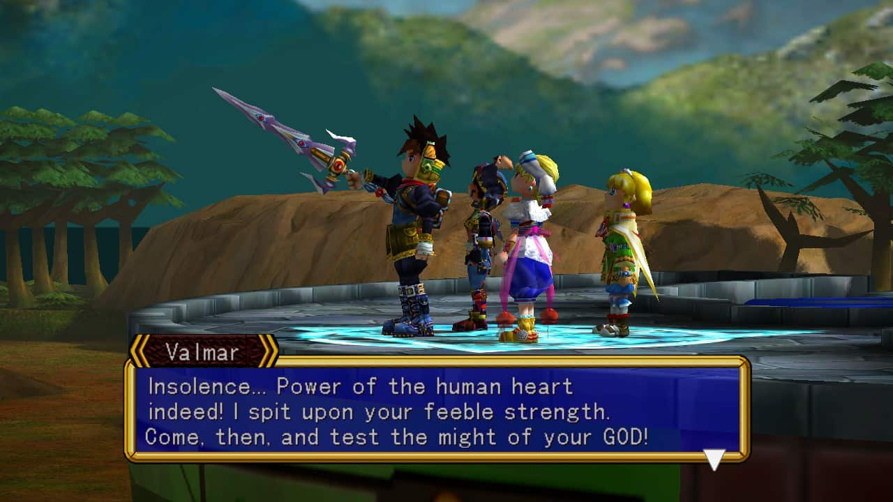 Grandia II Switch 20190611 04 - Buster Swords and Sorcery: E3 2019 Japanese RPG Roundup
