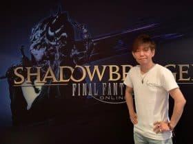 E3 2019 FFXIV Shadowbringers Interview - Naoki Yoshida