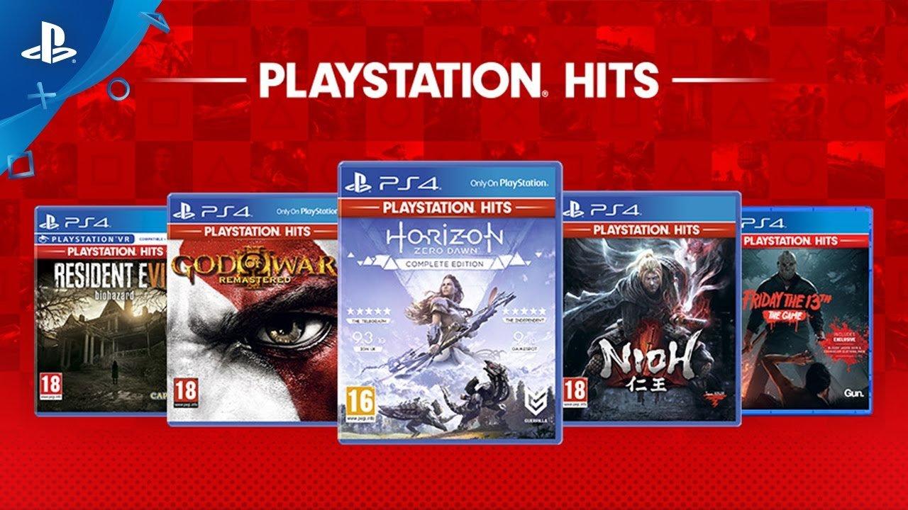 Horizon Zero Dawn, Nioh, And More Join PlayStation Hits