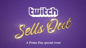Twitch Celebrates Amazon Prime Day With Twitch Sells Out Event