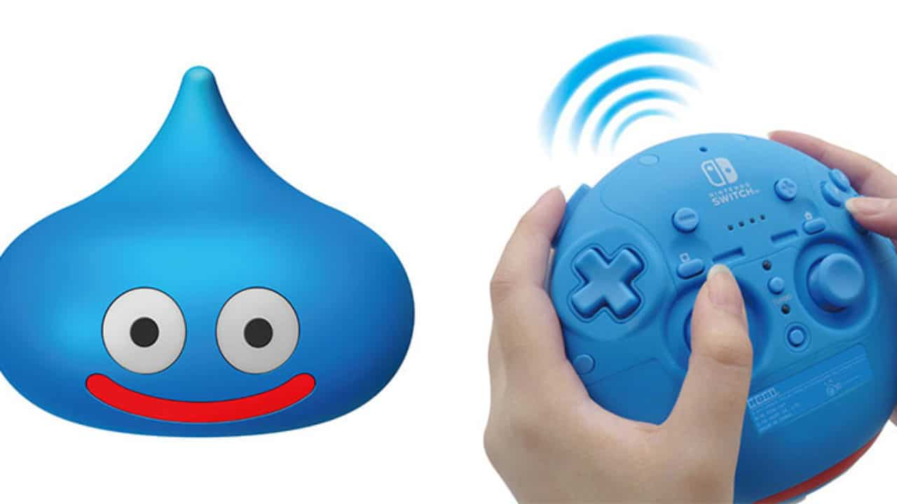 The Dragon Quest Slime Is A Good Switch Controller