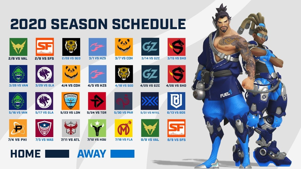 2020 Overwatch League Will Launch With Weekends In Dallas