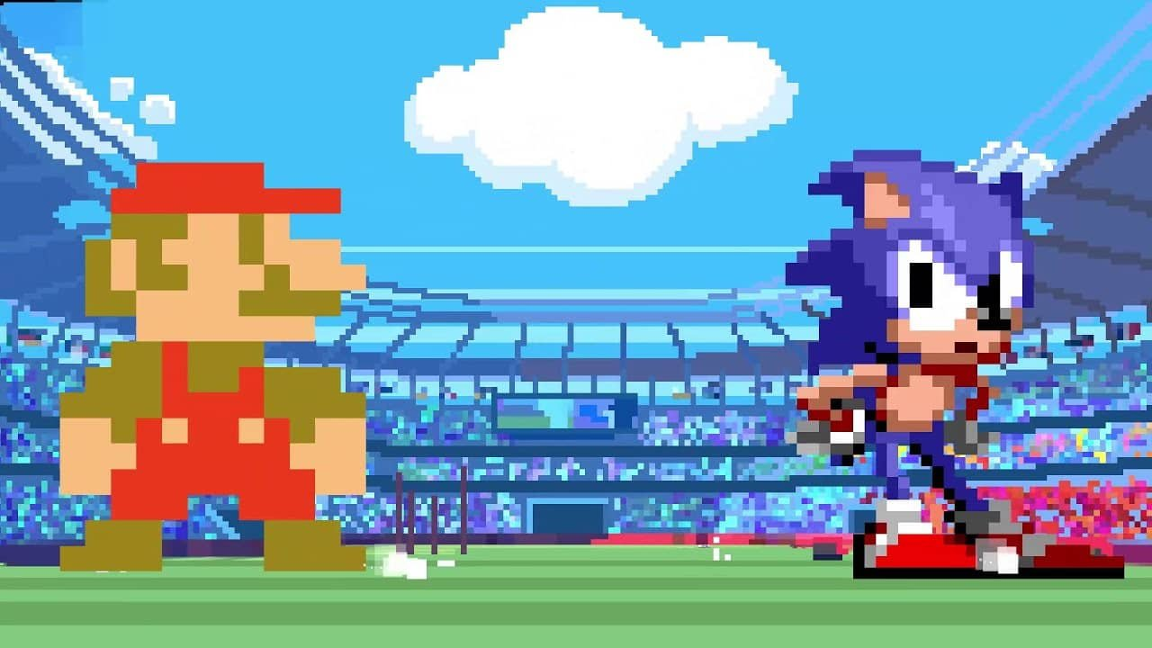 Mario & Sonic at the Olympic Games Tokyo 2020 Adds Pixelated Events