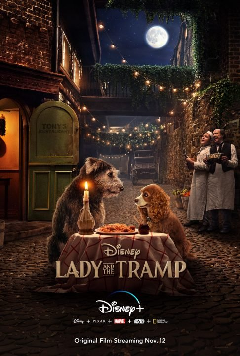 Lady And The Tramp Live-Action Poster Revealed