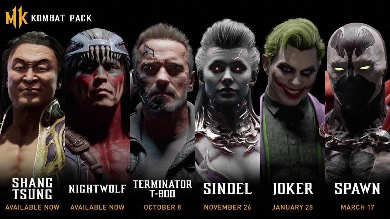 Mortal Kombat 11 Reveals DLC Roster, Including A Terminator And The Joker