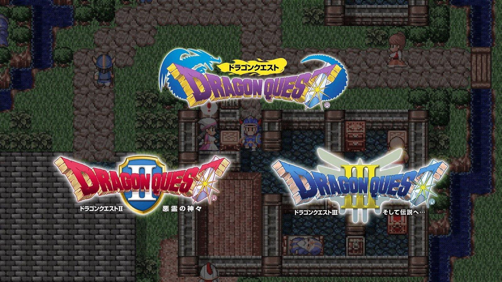 Original Dragon Quest Trilogy Coming To Nintendo Switch Next Week