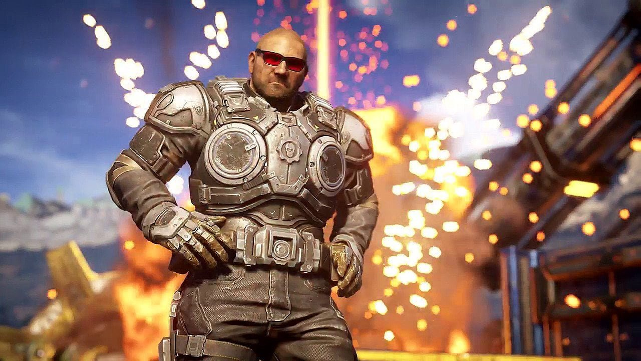 Gears 5 Adds Dave Bautista As A Free Character