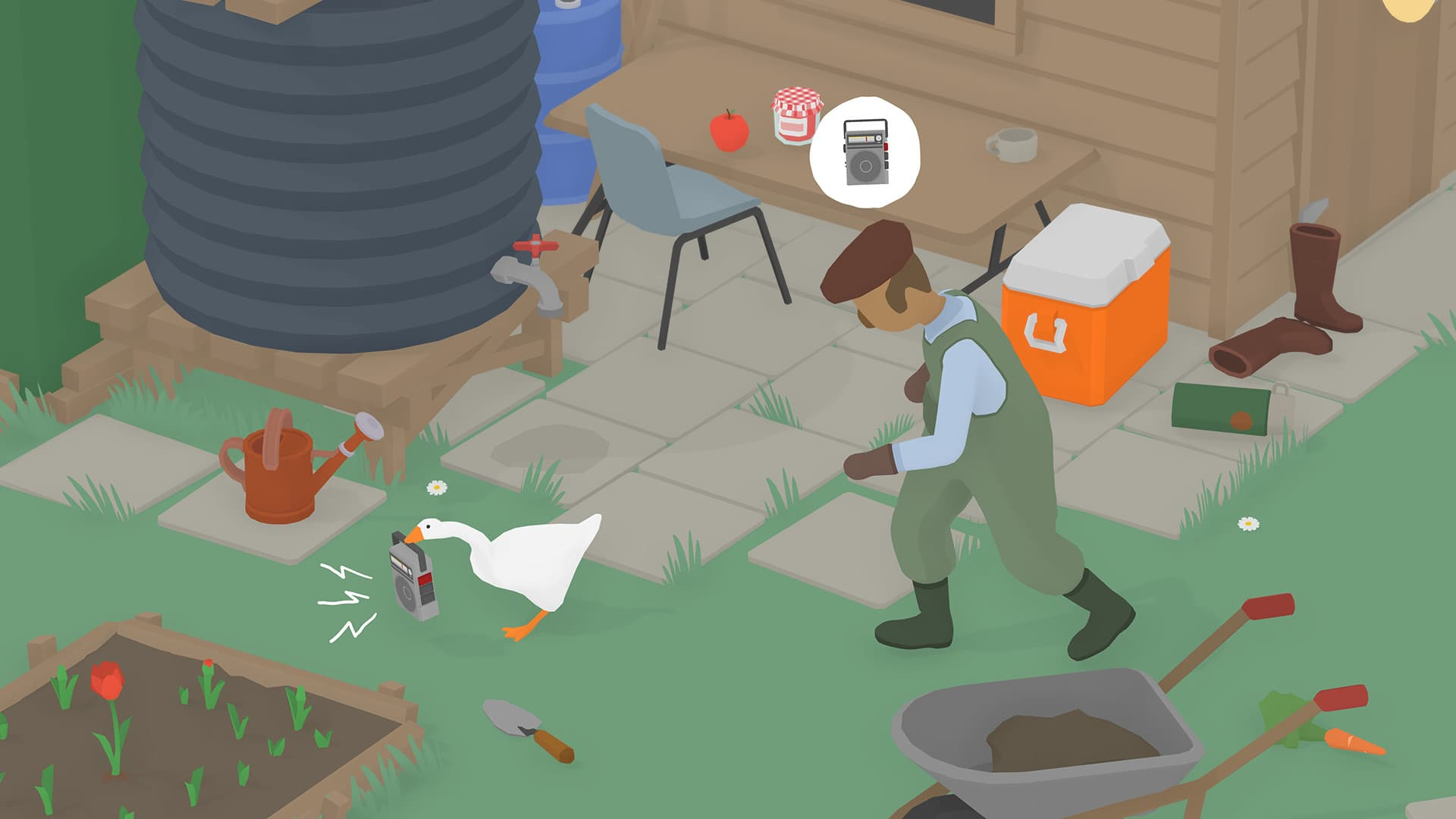 Untitled Goose Game Out This Month, Is Still Called That