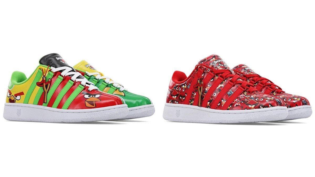 Angry Birds Sneakers Hurtling Into The Holidays