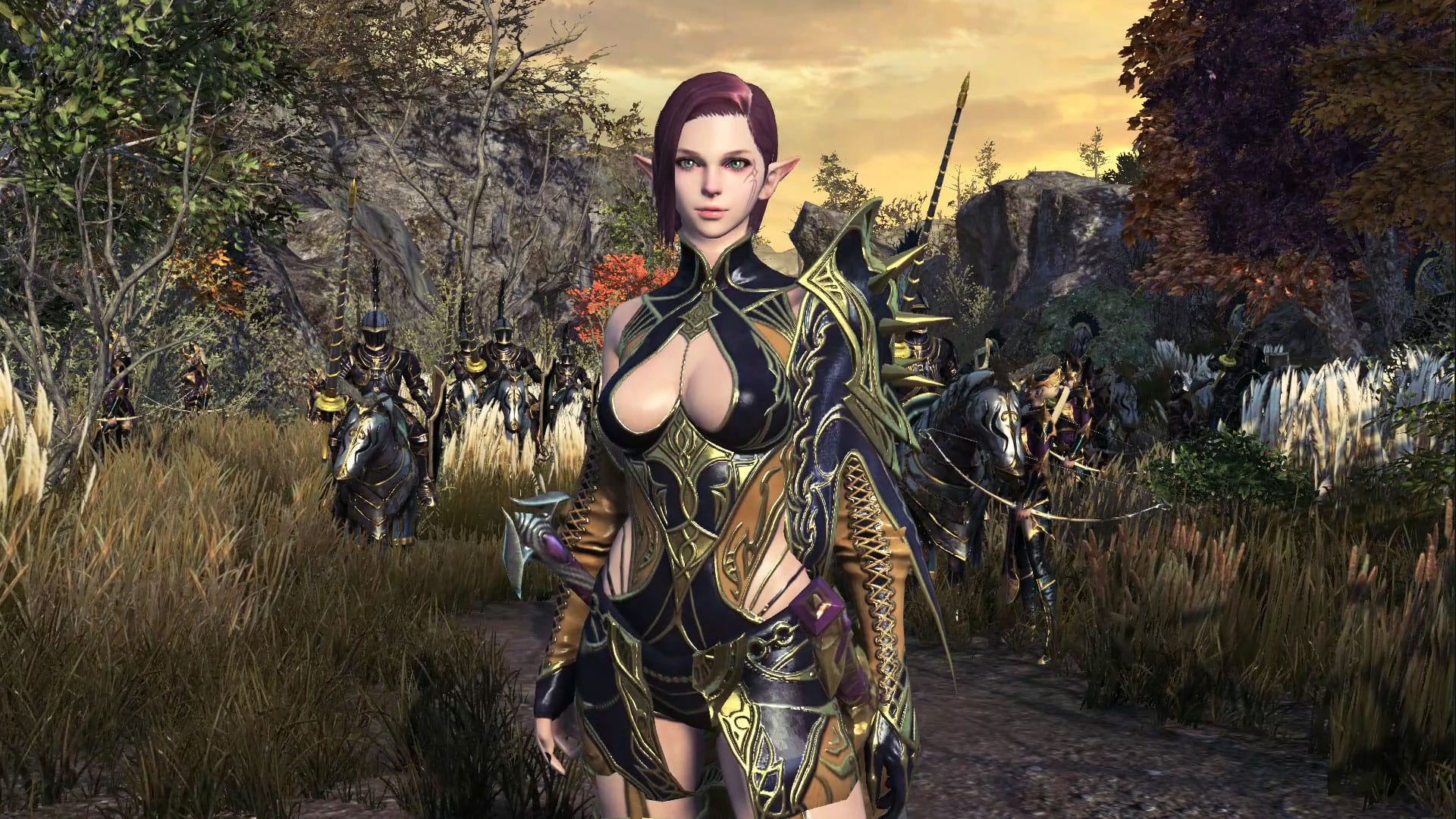 Gameforge Reveals Kingdom Under Fire 2 Spellsword Class 1