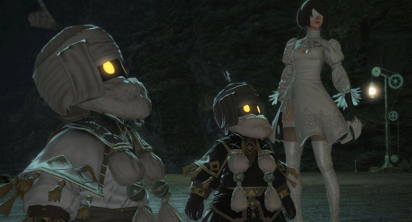 Final Fantasy XIV Unveils the NiER Raid Series in New Trailer