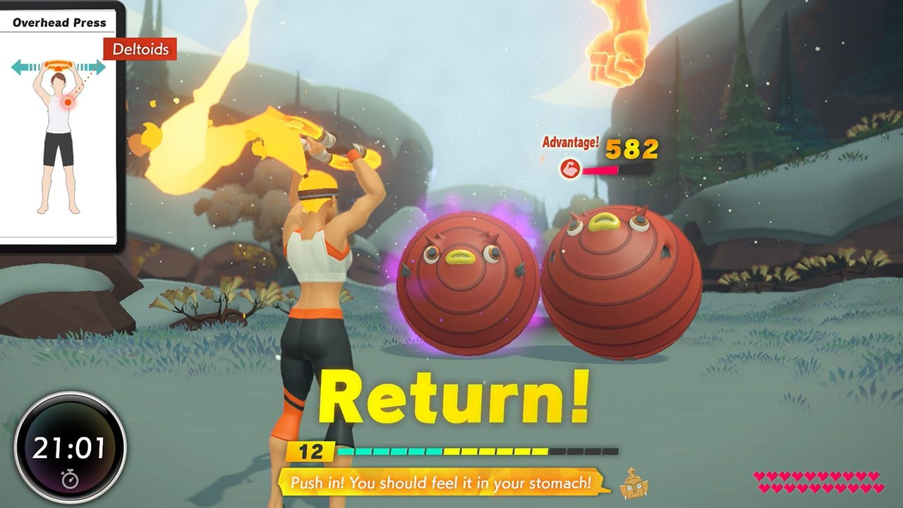 Ring Fit Adventure (Switch) Review 2