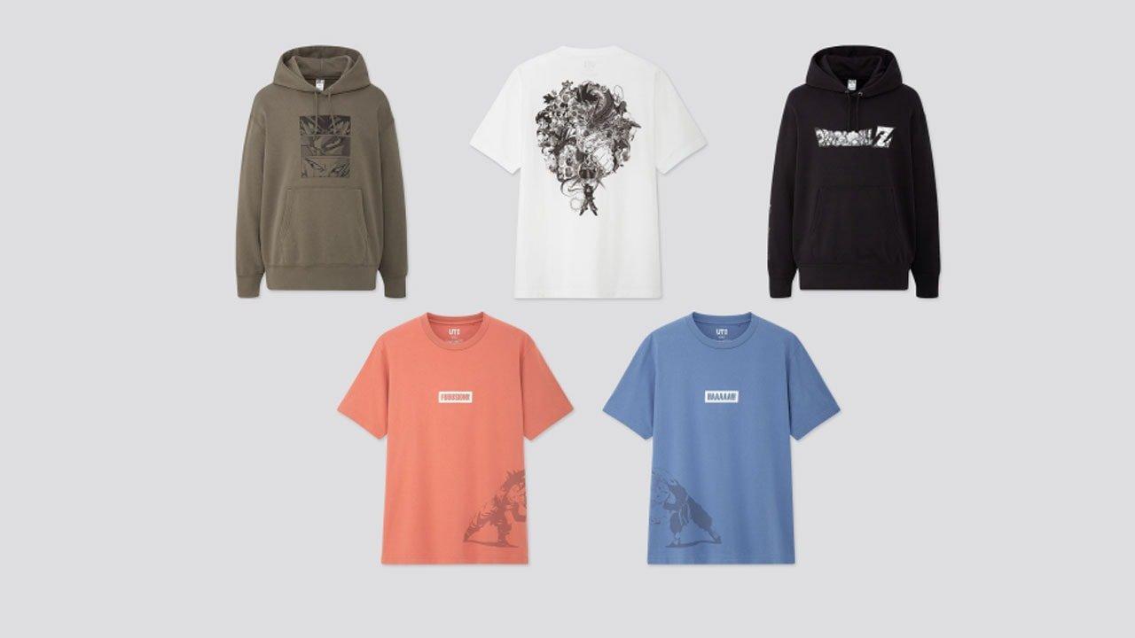 Dragon Ball T-Shirt Collection Invades Uniqlo 1