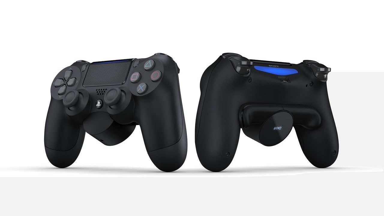 New DualShock 4 Attachment Brings Two Reprogrammable Switches to Controller 1