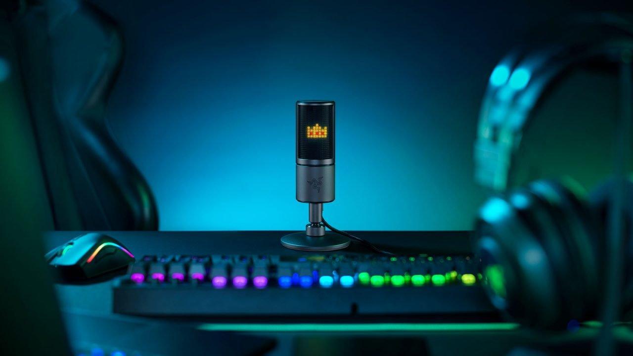 Razer Seiren Emote Streaming Microphone Review