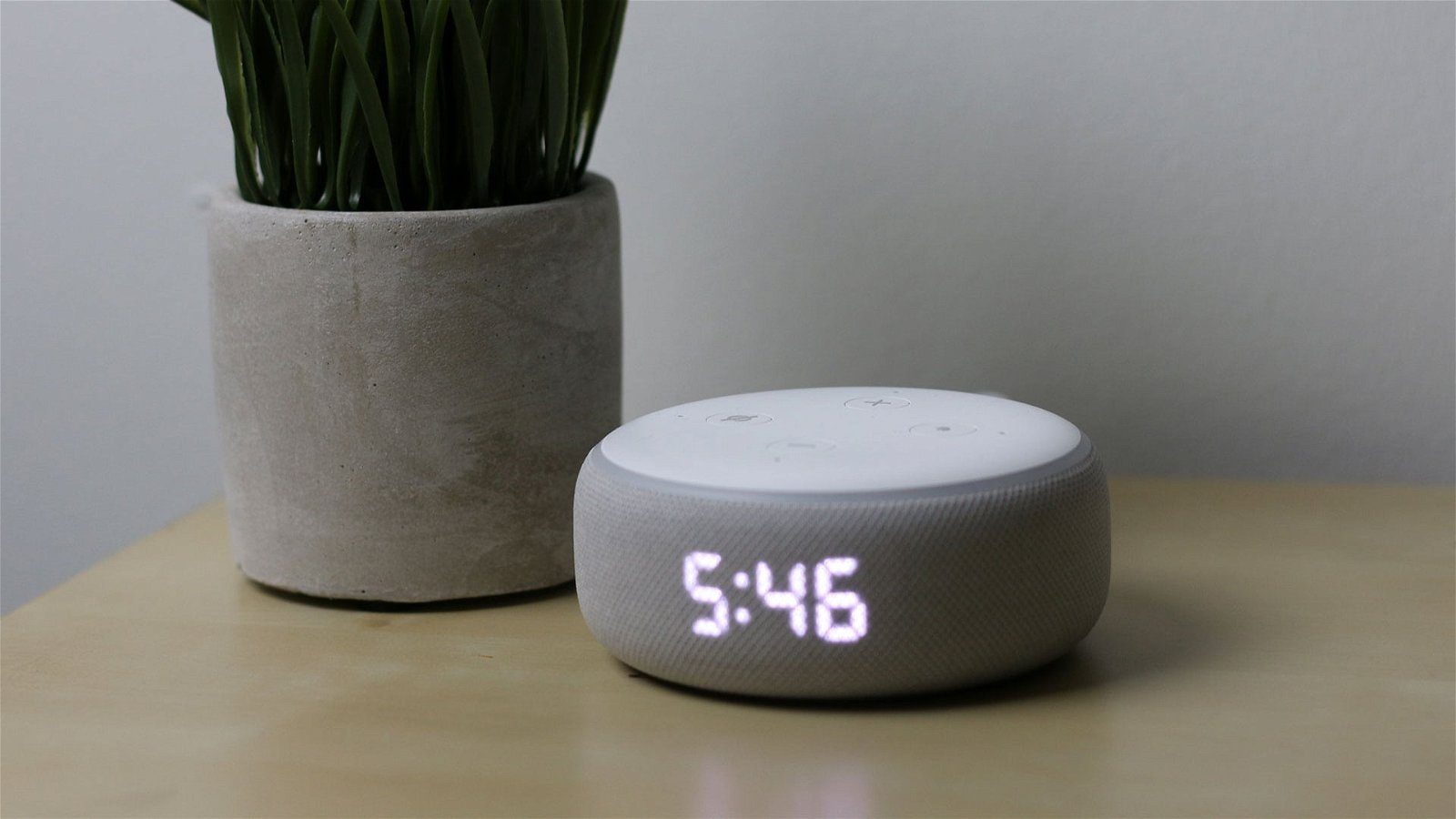 Amazon Echo Dot with Clock Review 3