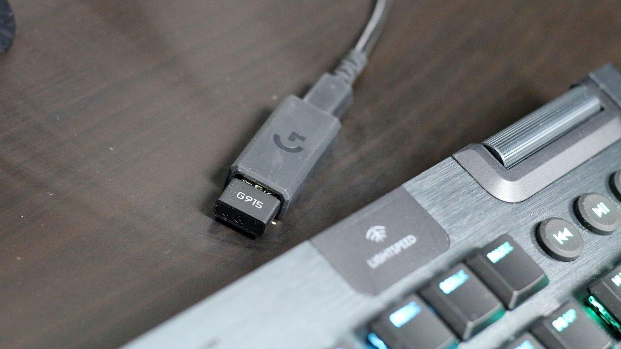 Logitech G915 Keyboard Review 4