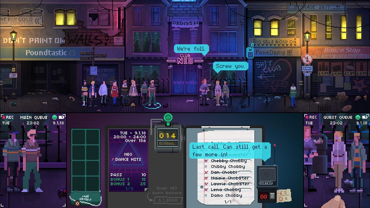 Not Tonight: Take Back Control Edition (Switch) Review