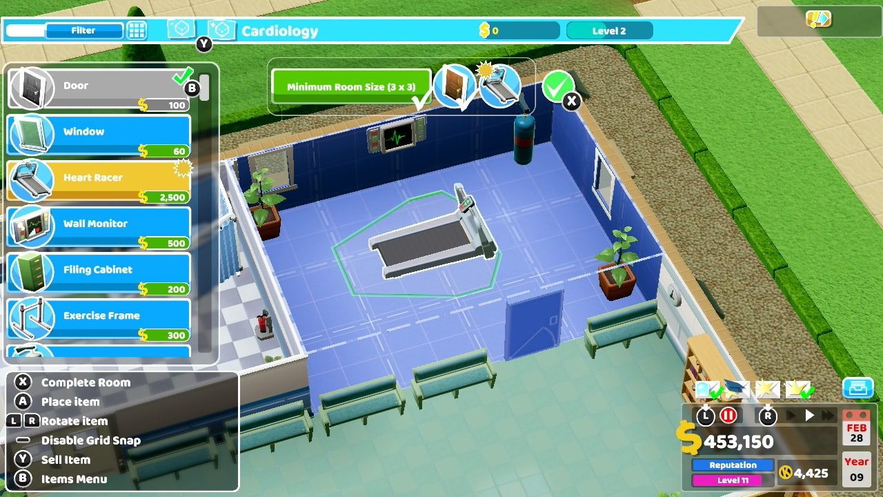 Two Point Hospital Console Review 4