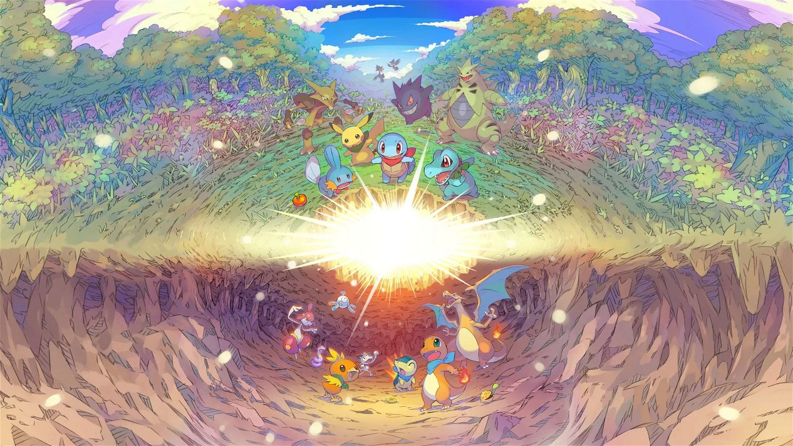 Pokemon Mystery Dungeon: Rescue Team DX Review 1