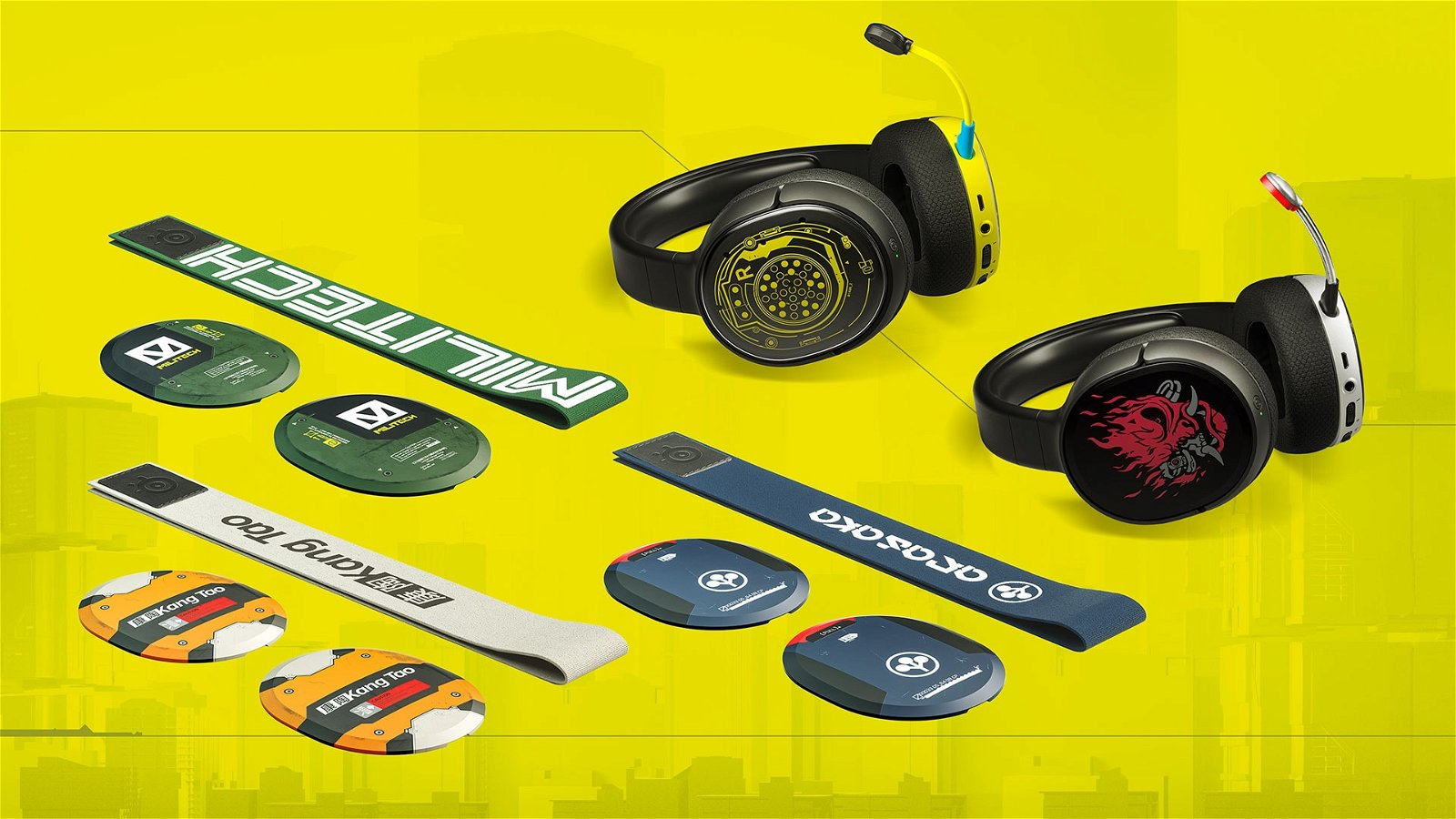 SteelSeries Announce Limited Edition Cyberpunk 2077 Headsets 2