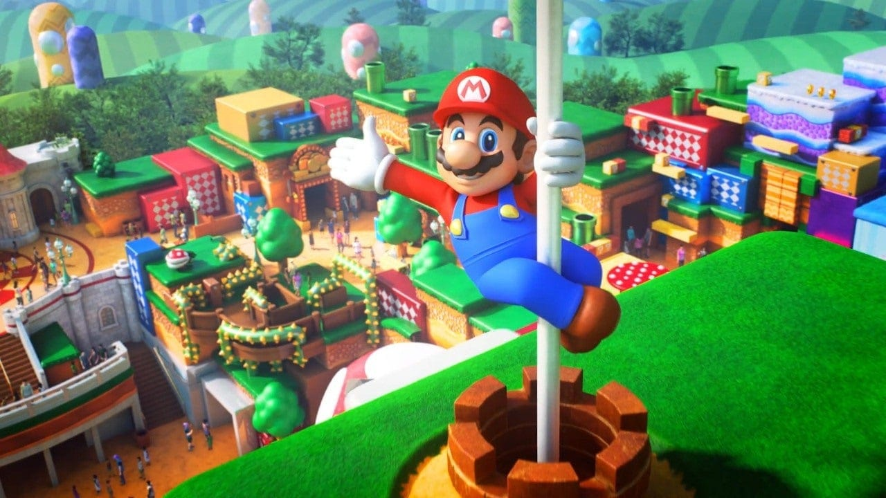 Super Nintendo World Aerial Shots Show A Real Mushroom Kingdom 1