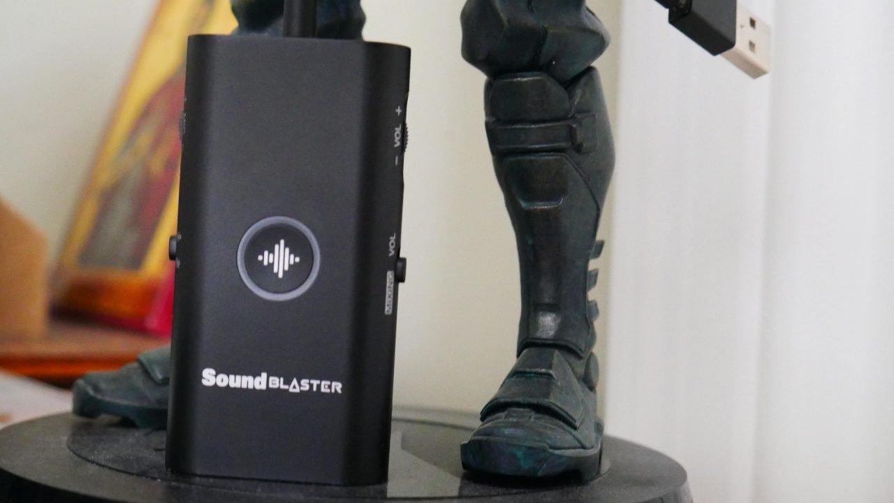 Sound Blaster G3 Review 3