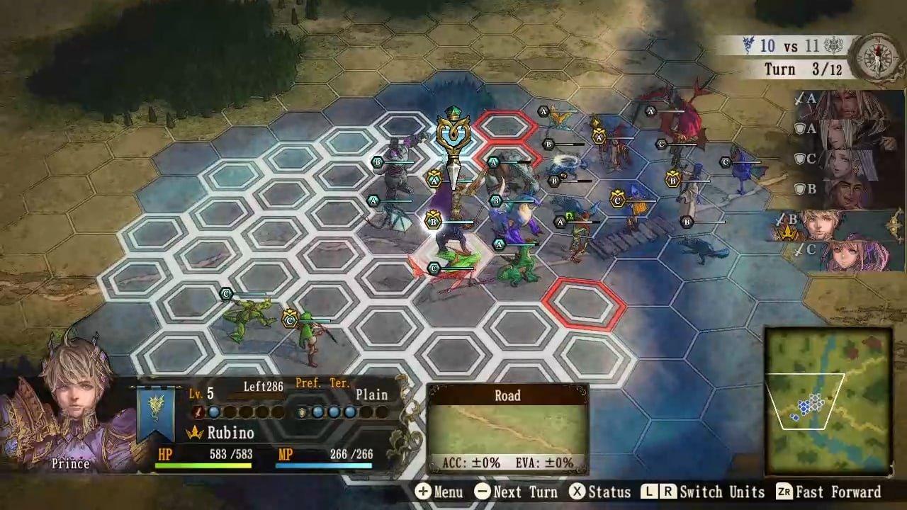 Brigandine: The Legend Of Runersia (Switch) Review 3